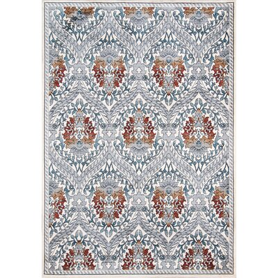 Shawny Blue Area Rug Rug Size: Rectangle 92 x 132