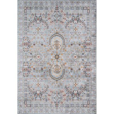 Valarie Gray Area Rug Rug Size: Rectangle 92 x 132