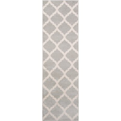 Arbonne Gray Indoor/Outdoor Area Rug Rug Size: Runner 23 x 76
