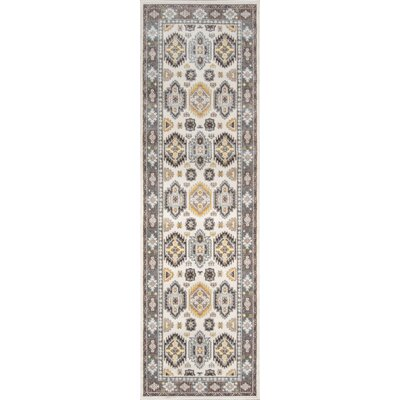 Ty Beige Indoor/Outdoor Area Rug Rug Size: 53 x 76
