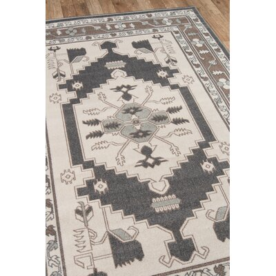 Kari Beige Indoor/Outdoor Area Rug Rug Size: Rectangle 53 x 76