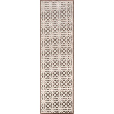 Sandoval Brown Indoor/Outdoor Area Rug Rug Size: Runner 23 x 76