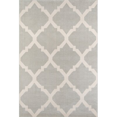 Arbonne Gray Indoor/Outdoor Area Rug Rug Size: Rectangle 53 x 76