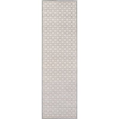 Inlet Gray Indoor/Outdoor Area Rug Rug Size: Runner 23 x 76