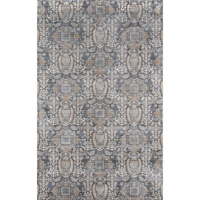 Lyons Gray Area Rug Rug Size: Rectangle 8 x 102