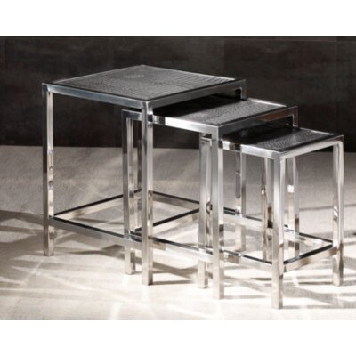 Papillion 3 Piece Nesting Table