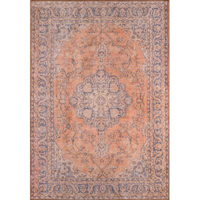 Varian Copper Area Rug Rug Size: Rectangle 3 x 5