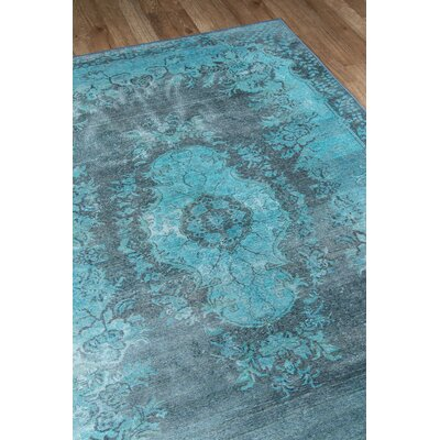 Varian Blue Area Rug Rug Size: Rectangle 76 x 96