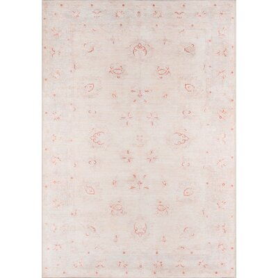 Burhan Beige Area Rug Rug Size: Rectangle 5 X 76