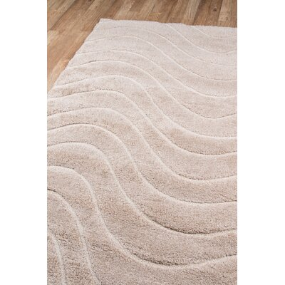 Gravesham Beige Area Rug Rug Size: Rectangle 76 x 96