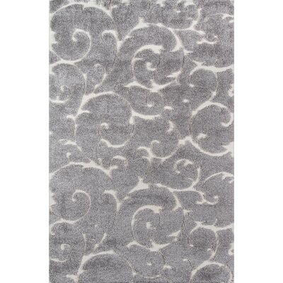 Gravesham Gray Area Rug Rug Size: Rectangle 86 x 116