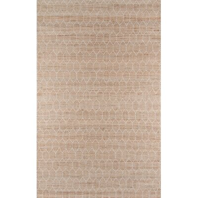 Supriya Hand-Woven Natural Area Rug Rug Size: Rectangle 8 x 10