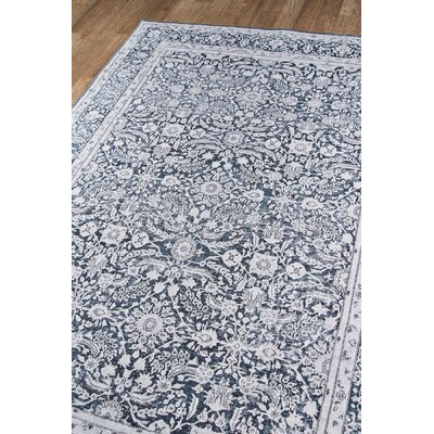 Burhan Charcoal Area Rug Rug Size: Rectangle 85 X 12