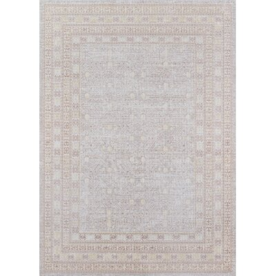 Sofian Gray Area Rug Rug Size: Rectangle 93 x 1110