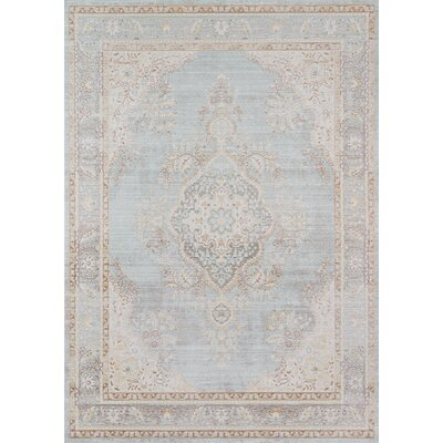 Sofian Blue Oriental Area Rug Rug Size: Rectangle 710 x 106