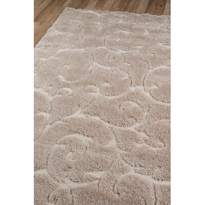 Gravesham Beige Area Rug Rug Size: Rectangle 86 x 116