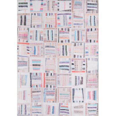 Varian Beige Area Rug Rug Size: Rectangle 76 X 96