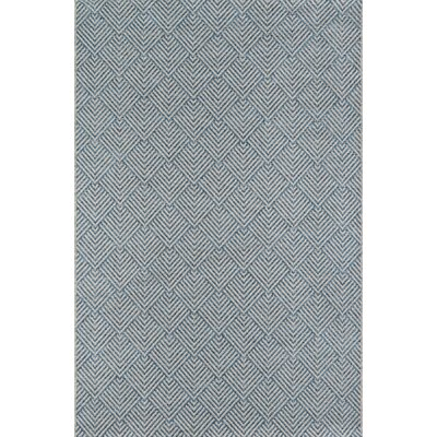 Milivoje Blue Area Rug Rug Size: Rectangle 9'10