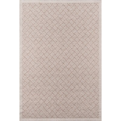 Milivoje Tan Geometric Area Rug Rug Size: Rectangle 2 x 3