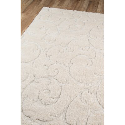 Gravesham Ivory Area Rug Rug Size: Rectangle 86 x 116