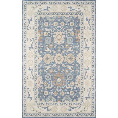 Griswold Indoor Light Blue Area Rug Rug Size: Rectangle 53 x 76