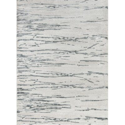 Northwick Indoor Gray Area Rug Rug Size: Rectangle 76 x 96