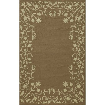 McMahon Hand Hooked Latte Area Rug Rug Size: Rectangle 2 x 3