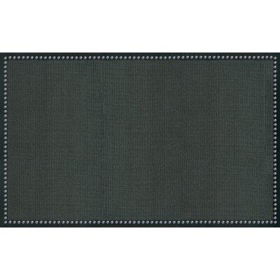 "The Rug Market Sisal Charcoal Nail Head Rug - Rug Size: 5' x 7'5"" at Sears.com"