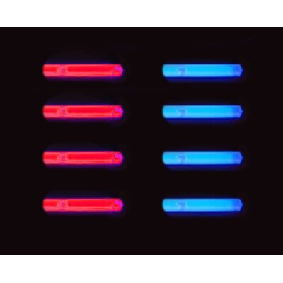 Glow Sticks(QTY8-4red,4blue)