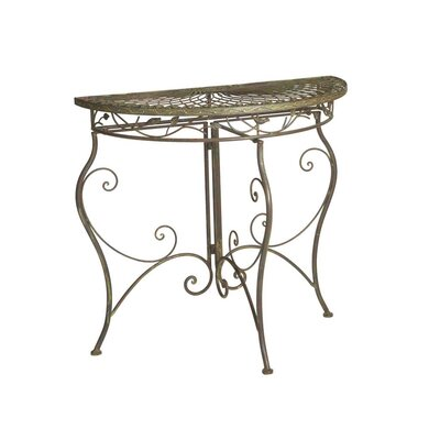 Cheap CBK Birds and Leaves Half Circle Table (CBK2153)