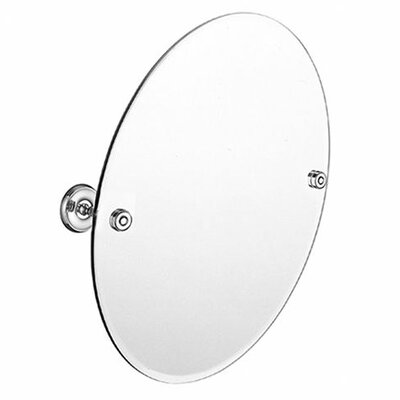 Villa Bathroom Mirror Finish: Brushed Nickel