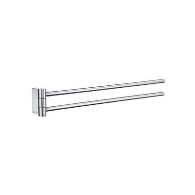 Smedbo Air Double Wall Mounted Towel Bar AK326