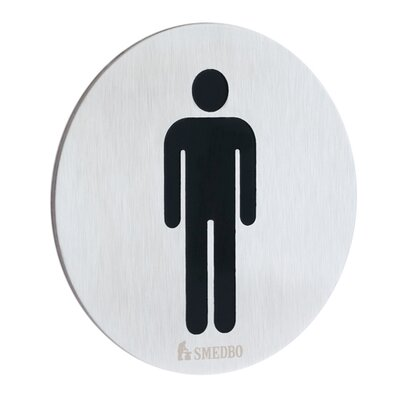 Xtra Restroom Sign Gentleman