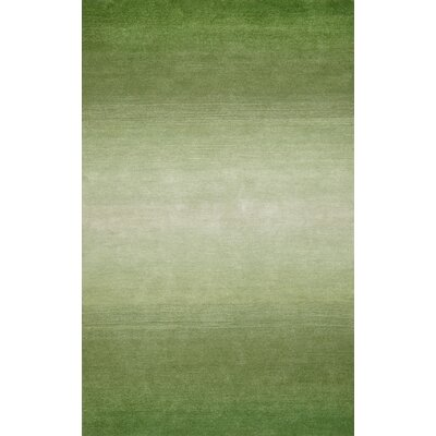 Ombre Grass Hand-Tufted Green Area Rug Rug Size: 9 x 12