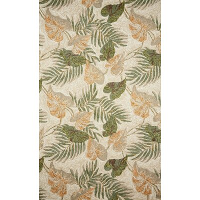 "Trans Ocean Ravella Tropical Leaf Rug - Rug Size: 5' x 7'6"" at Sears.com"