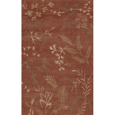 Howland Red Floral Area Rug Rug Size: Rectangle 5 x 8