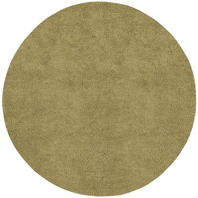 Bonney Gold Area Rug Rug Size: Round 10