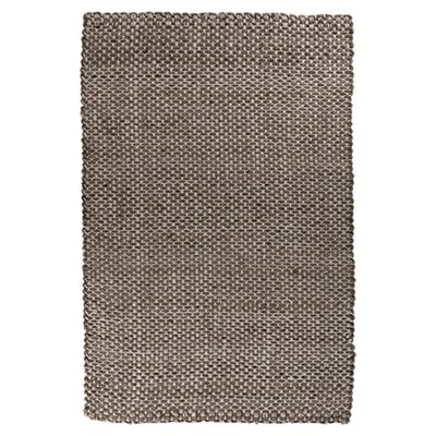 Jaidan Coal Black Rug Rug Size: Rectangle 8 x 11