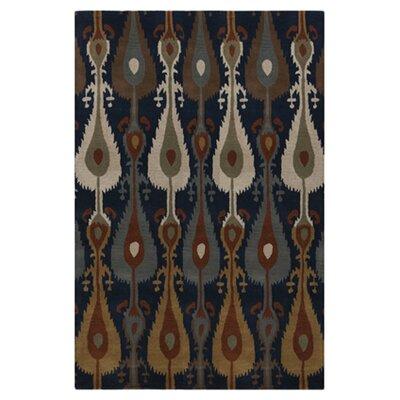 "Matmi Midnight Blue Area Rug Rug Size: 3'3"" x 5'3"" MAT5456-3353"