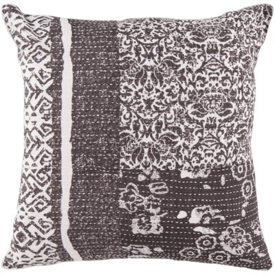 Riverside Cotton Throw Pillow Size: 18, Fill Material: Down