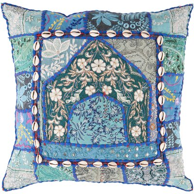 Hays Hues Throw Pillow Size: 18 H x 18 W, Filler: Polyester