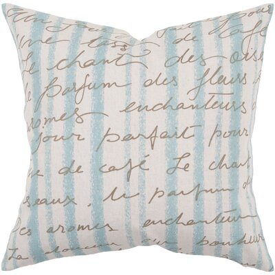 Shamiera Language of Love Throw Pillow Size: 22 H x 22 W, Filler: Polyester