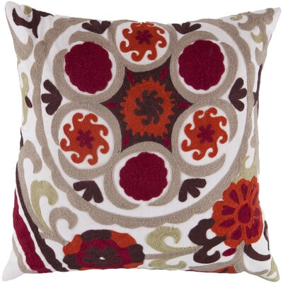 Ismael Suzani Throw Pillow Size: 22 H x 22 W x 4 D, Filler: Down