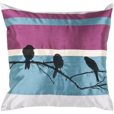 Aidy Birds on a Branch Pillow Size: 22, Filler: Polyester