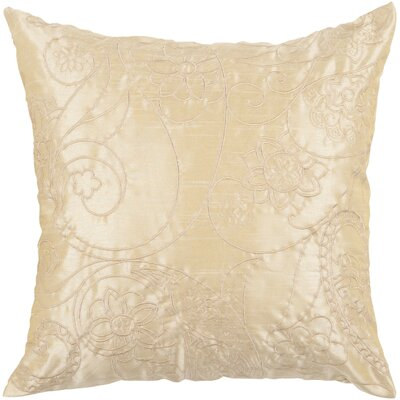 Helena Stich Throw Pillow Color: Blond/Caramel, Fill Material: Polyester