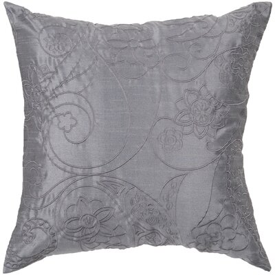 Helena Stich Throw Pillow Color: Slate Blue/Pewter, Fill Material: Down