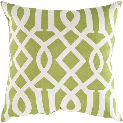 "Surya Charming Key Pillow Cover - Size: 22"" H x 22"" W x 4"" D, Color: Lime at Sears.com"