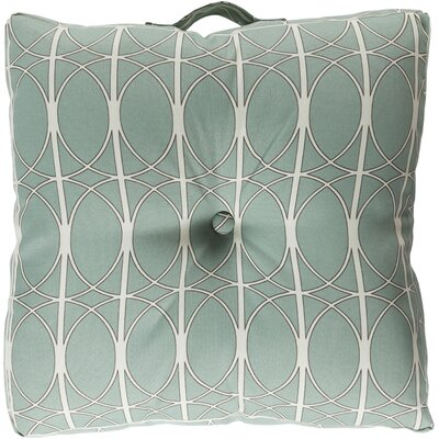 Ballenton Outdoor Pillow Cover Color: Gray