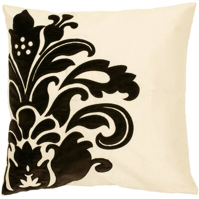Georgitte Damask Throw Pillow Filler: Polyester