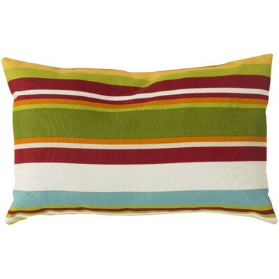 Liara Pillow Cover Color: Cherry